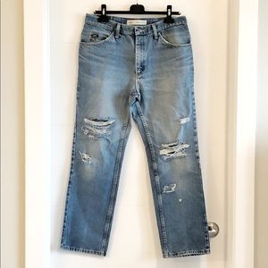 Vintage Lee relaxed fit jeans